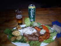 Camp Vili - večeře