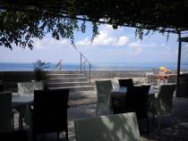 pohled z restaurace kempu Jadranka
