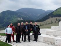 Zahajovací prvomájová jízda VSJ na Slovensko