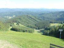 Kohútka - pohled z vyhlídkové terasy