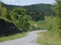 Kohútka - přistupová cesta