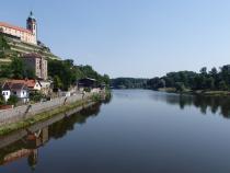 Mělník - soutok Labe a Vltavy