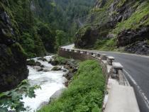 cesta na Obertauern