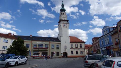 Boskovice, radniční věž