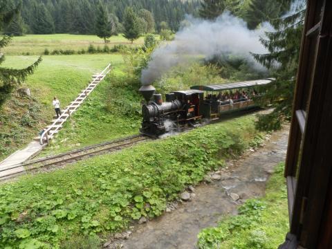 Vychylovka - lesní uvraťová železnice